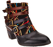 Spring Step LArtiste Leather Ankle Boots - Redding - A334165