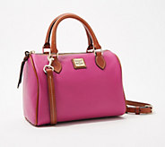 Dooney & Bourke Pebble Leather Trudy Satchel - A351965