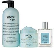 philosophy super-size shower gel, eau de toilette & cloud cream - A353165