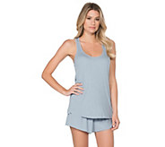 Barefoot Dreams Luxe Ribbed Jersey Tank - A363165
