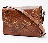 Patricia Nash Leather Sarola Crossbody - A376065