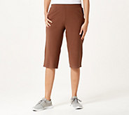 Denim & Co. Active Duo Stretch Skimmer Length Pants - A379765