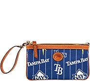 Dooney & Bourke MLB Nylon Rays Large Slim Wristlet - A281666