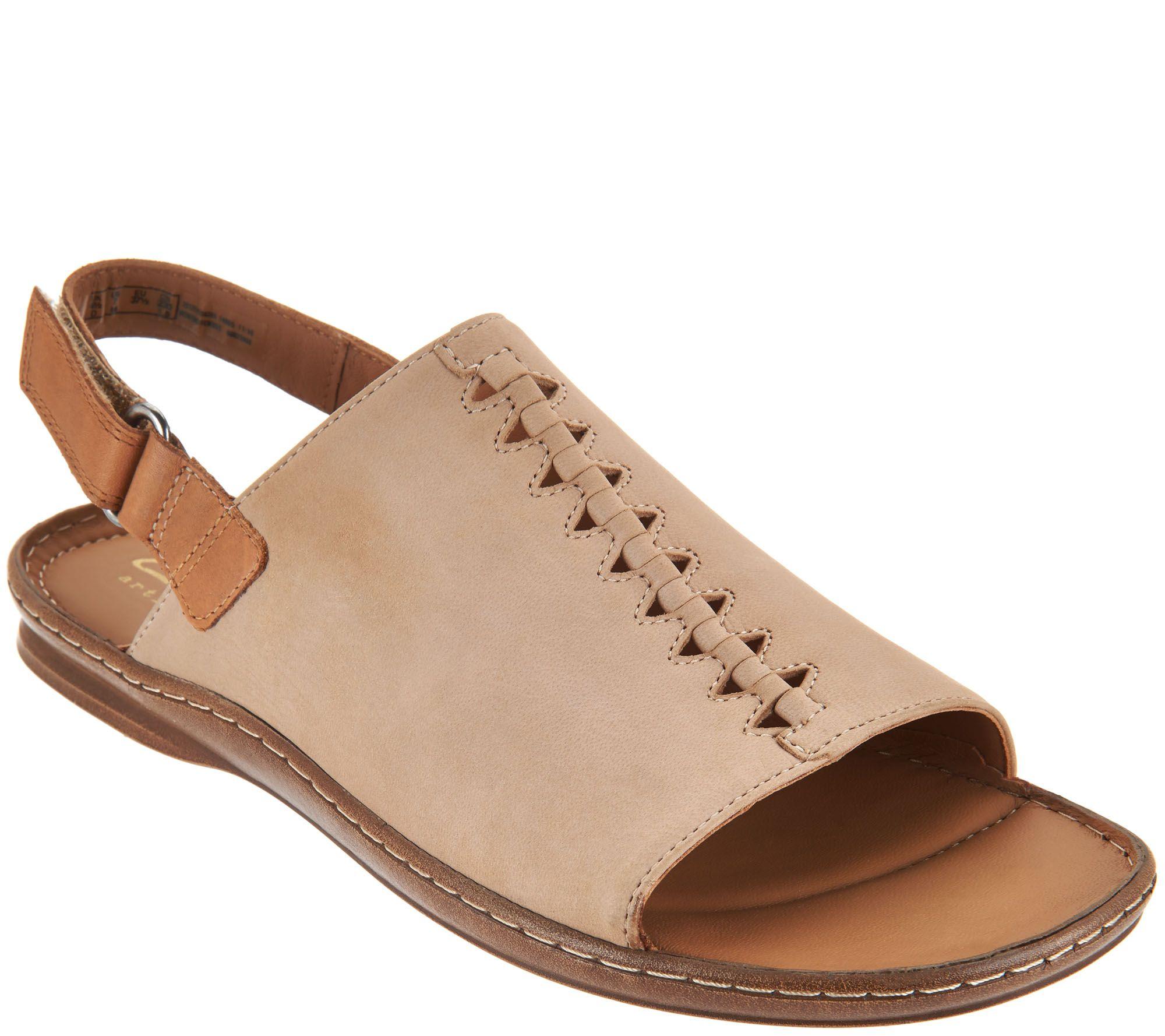 cc2ce3c32ce1 Clarks Leather Sandals w  Ankle Strap - Sarla Forte - Page 1 — QVC.com