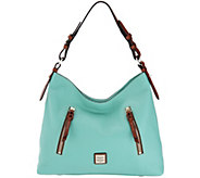 Dooney & Bourke Pebble Leather Hobo Handbag- Cooper - A304966