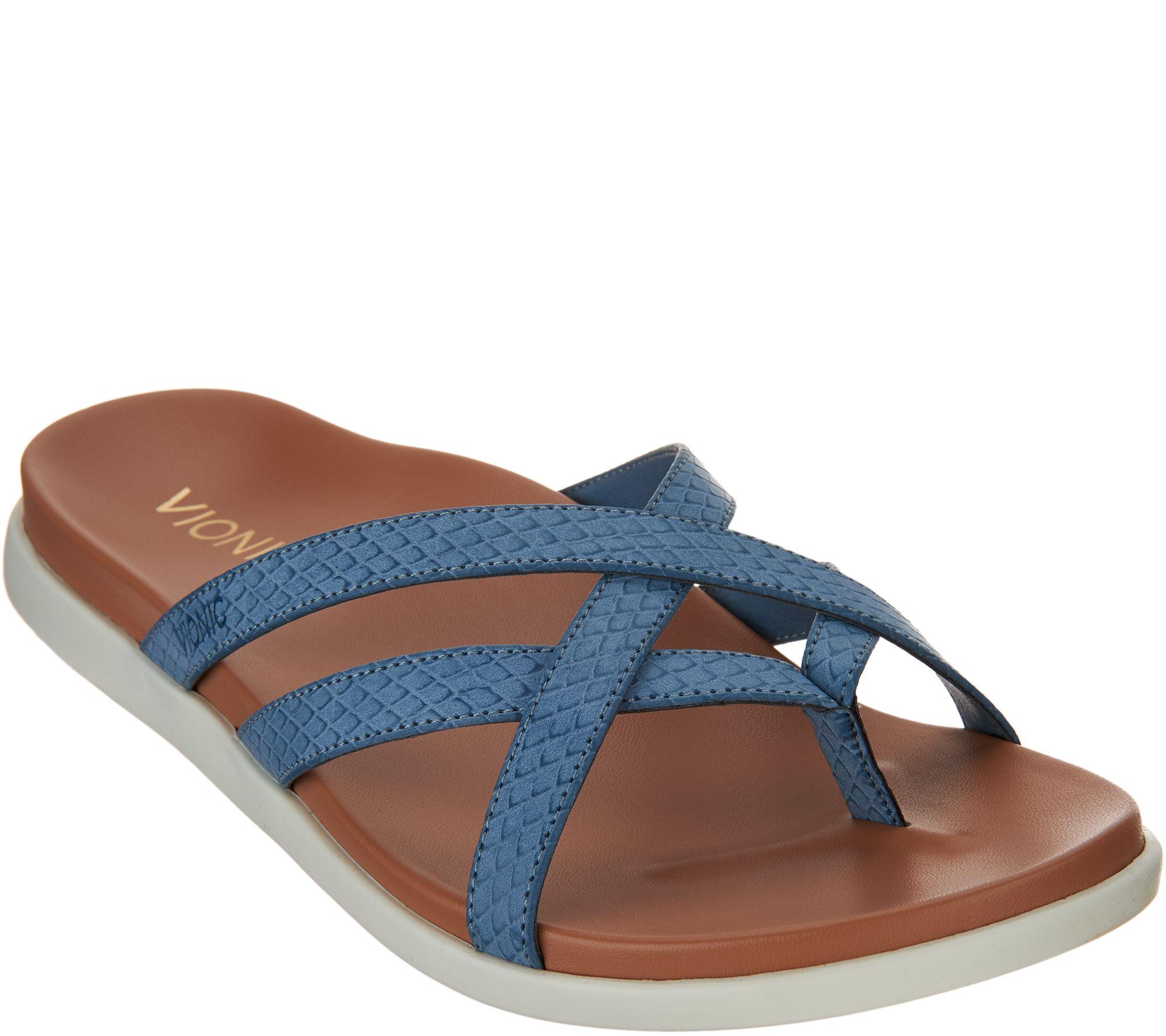 ea49d48bc9a2 Vionic Multi-Strap Sandals - Daisy - Page 1 — QVC.com