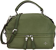 orYANY Lamb Leather Satchel Handbag - Rowen - A307966