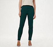 Isaac Mizrahi Live! Regular 24/7 Stretch Slim Leg Pants with Pockets - A309566