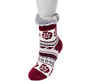 MUK LUKS Womens Fluffy Cabin Socks - A361766