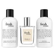 philosophy fresh cream layering set - A413366