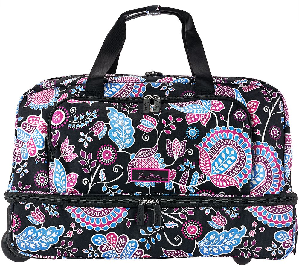 7a6c3879c9fb Vera Bradley Lighten Up Wheeled Carry On Luggage - Page 1 — QVC.com