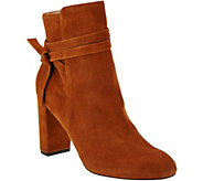 Sole Society Suede Ankle Boots - Flynn - A279867