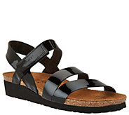 Naot Leather Cross-strap Sandals - Kayla - A284567