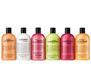 philosophy taste of summer 6-piece shower gel kit - A304567
