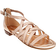Marc Fisher Cross Weave Stretch Sandals - Play - A305367