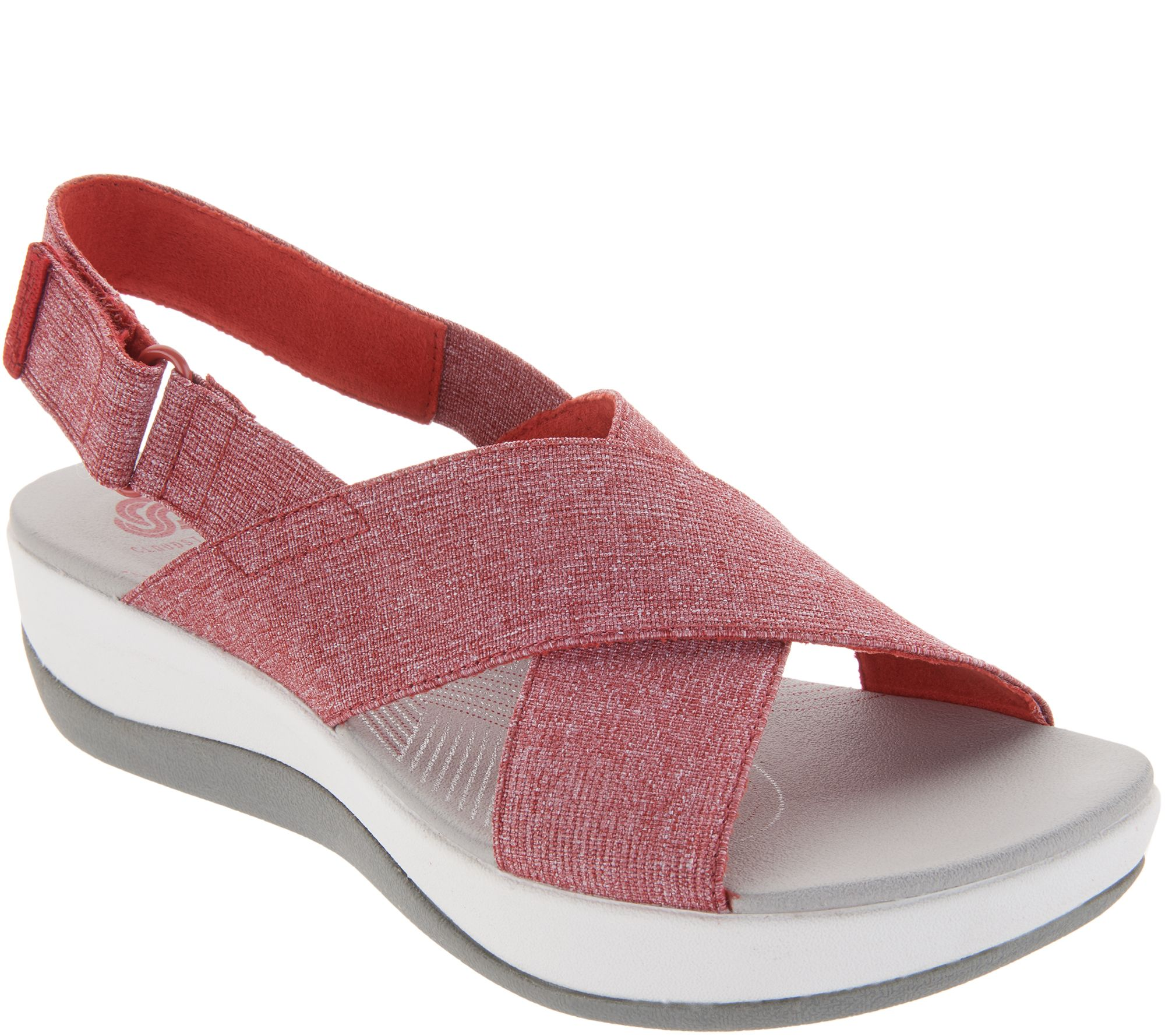 c66a316390e CLOUDSTEPPERS by Clarks Adjustable Sandals - Arla Kaydin - Page 1 — QVC.com