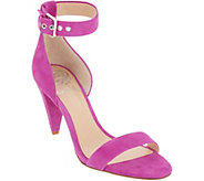 Vince Camuto Ankle Strap Sandals with Cone Heel - Cashane - A310567