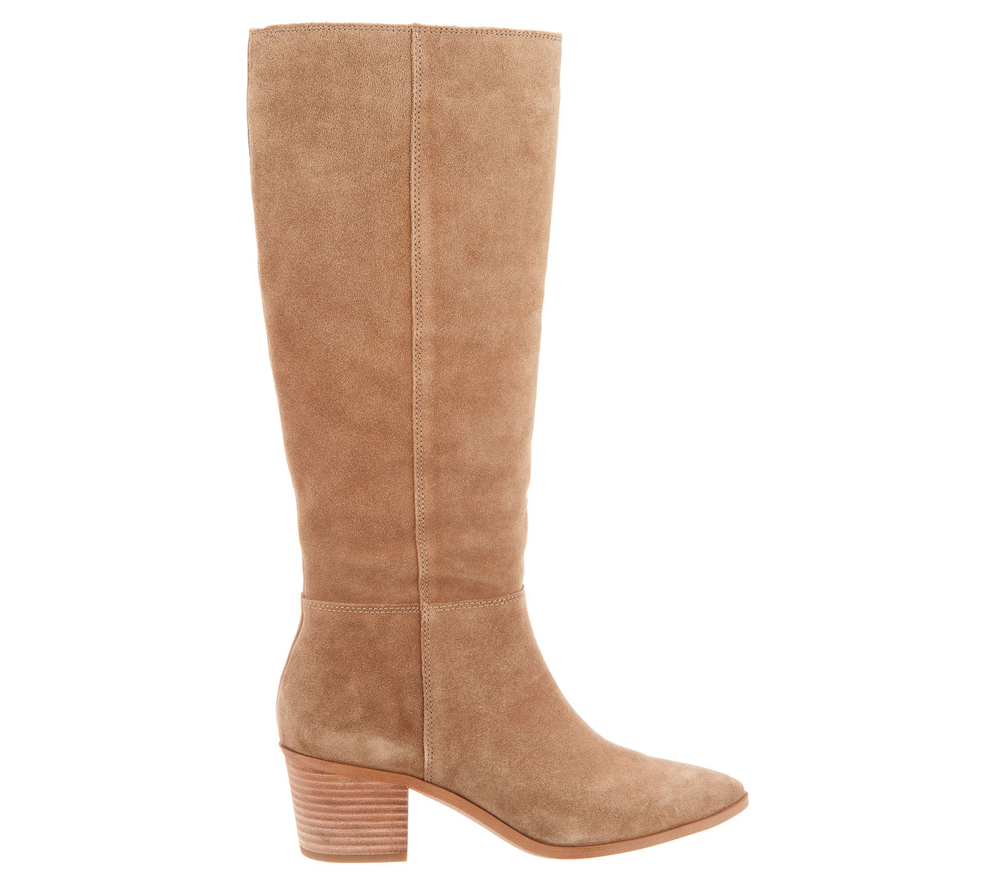 597373dba192 Franco Sarto Leather or Suede Tall Shaft Boots - Sharona - Page 1 — QVC.com