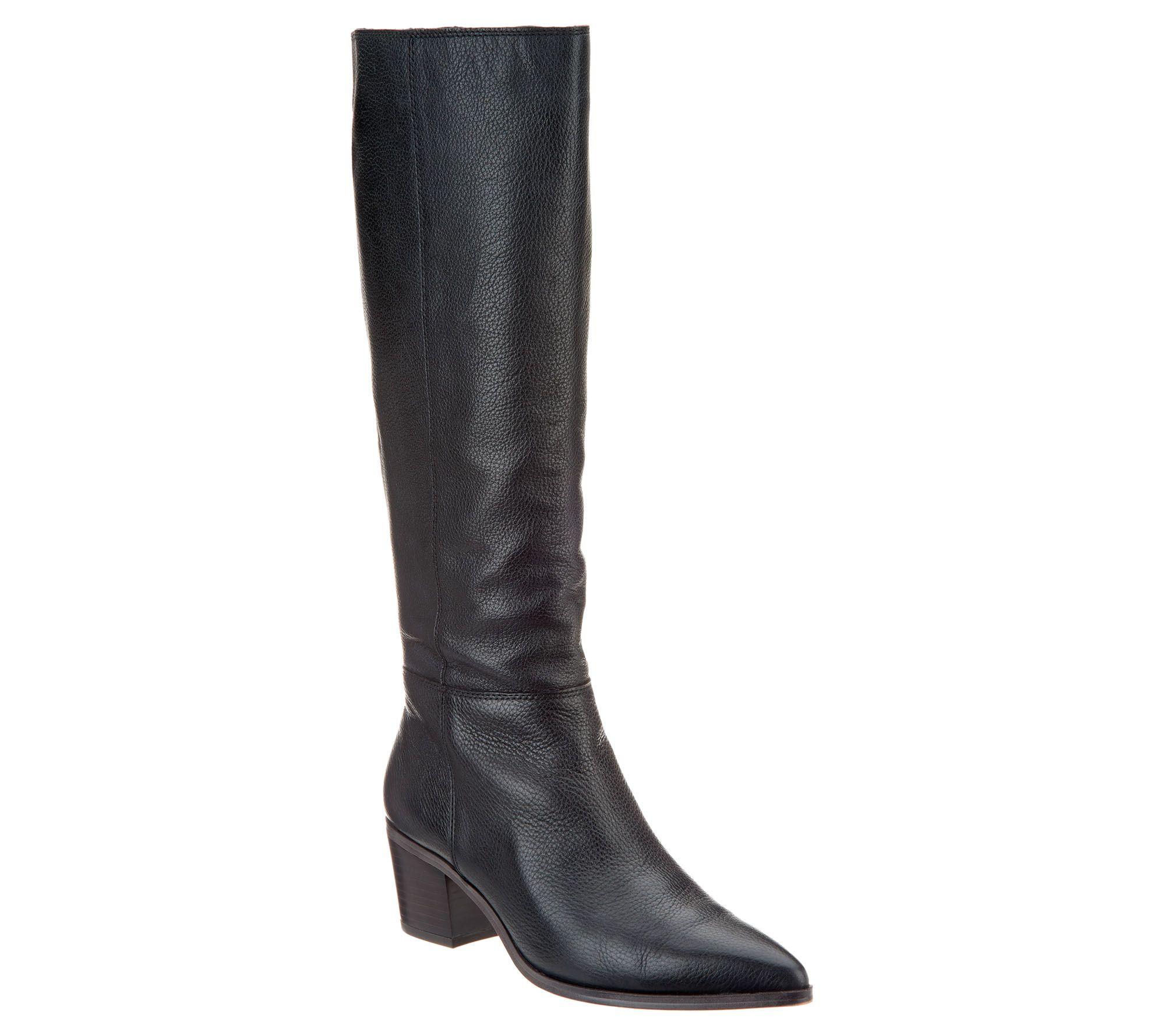 671ea5e20f9 Franco Sarto Leather or Suede Tall Shaft Boots - Sharona - Page 1 — QVC.com