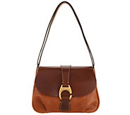 As Is Dooney & Bourke Florentine Hobo Handbag- Derby - A346467