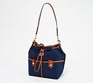 Dooney & Bourke Camden Collection Nylon Drawstring Bag - A365567