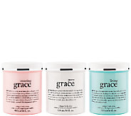 philosophy super-size grace whipped body creme trio - A269768