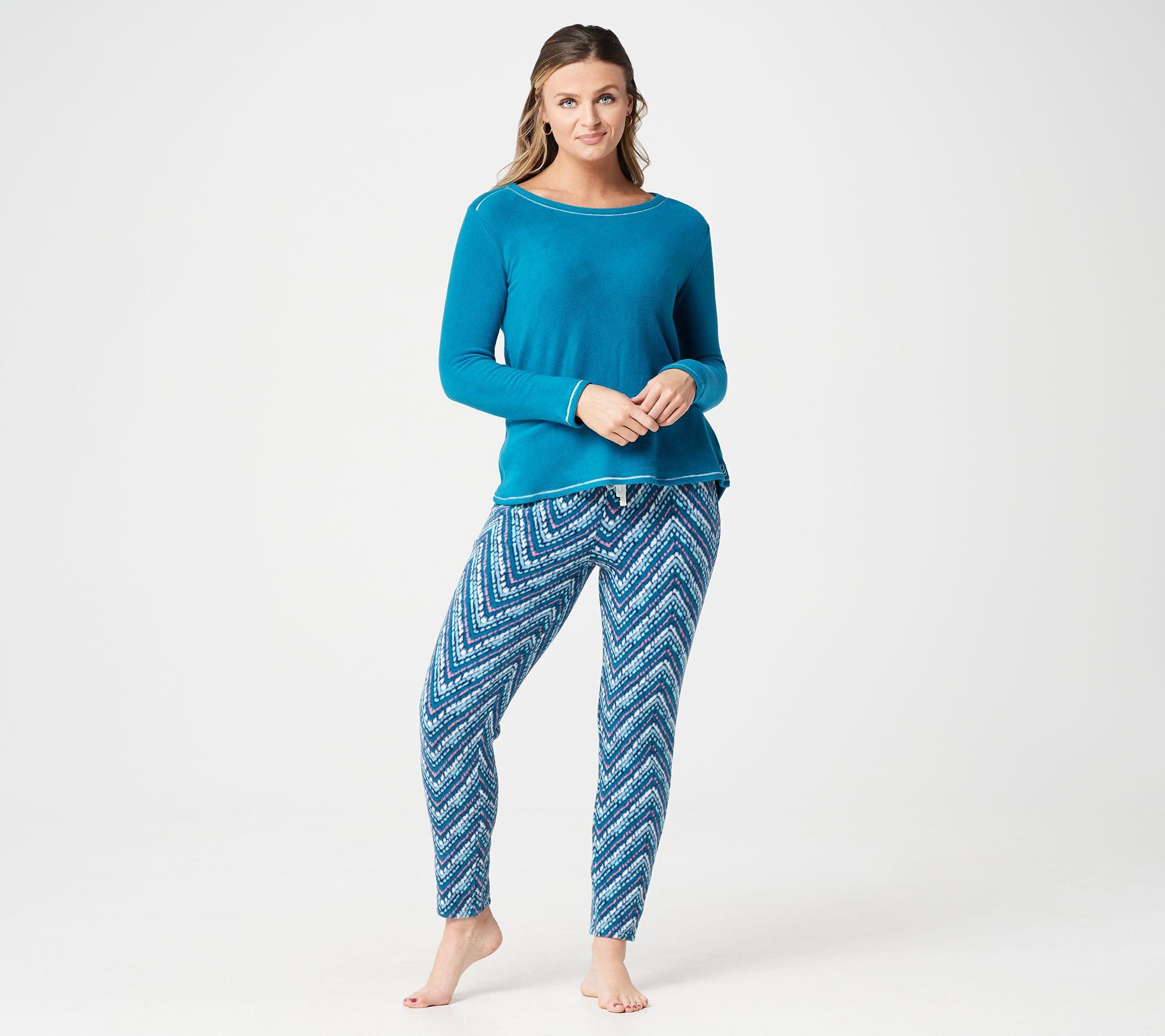 f74c0e24943 Cuddl Duds Regular Fleecewear Stretch Novelty Pajama Set - Page 1 — QVC.com