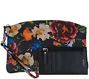 LODIS Italian Leather Wristlet Pouch with RFID Card Case - A299168