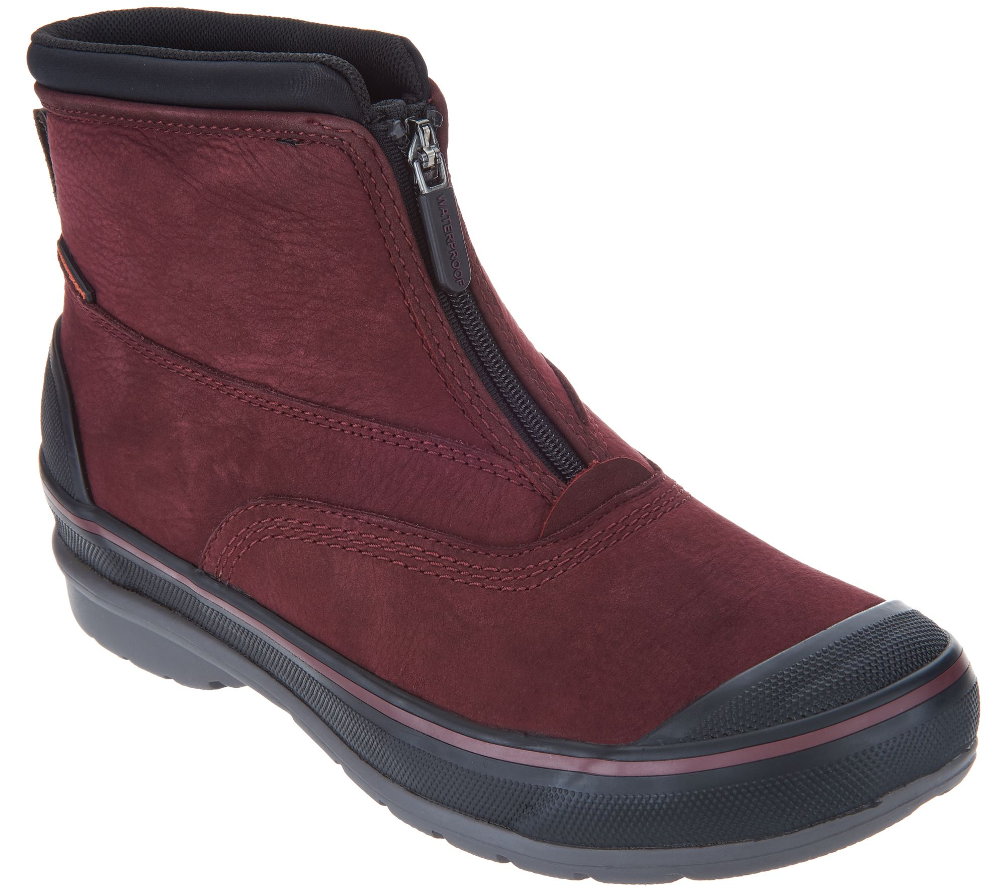 Clarks Waterproof Leather Zip Front Boots - Muckers Hike footaction cheap price outlet store get to buy cheap online choice for sale pre order online Vv0Upy