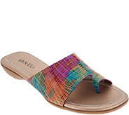 Vaneli Leather Toe Loop Slides - Tallis - A306368