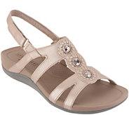 Clarks Embellished Adjustable Sandals - Pical Serino - A306968