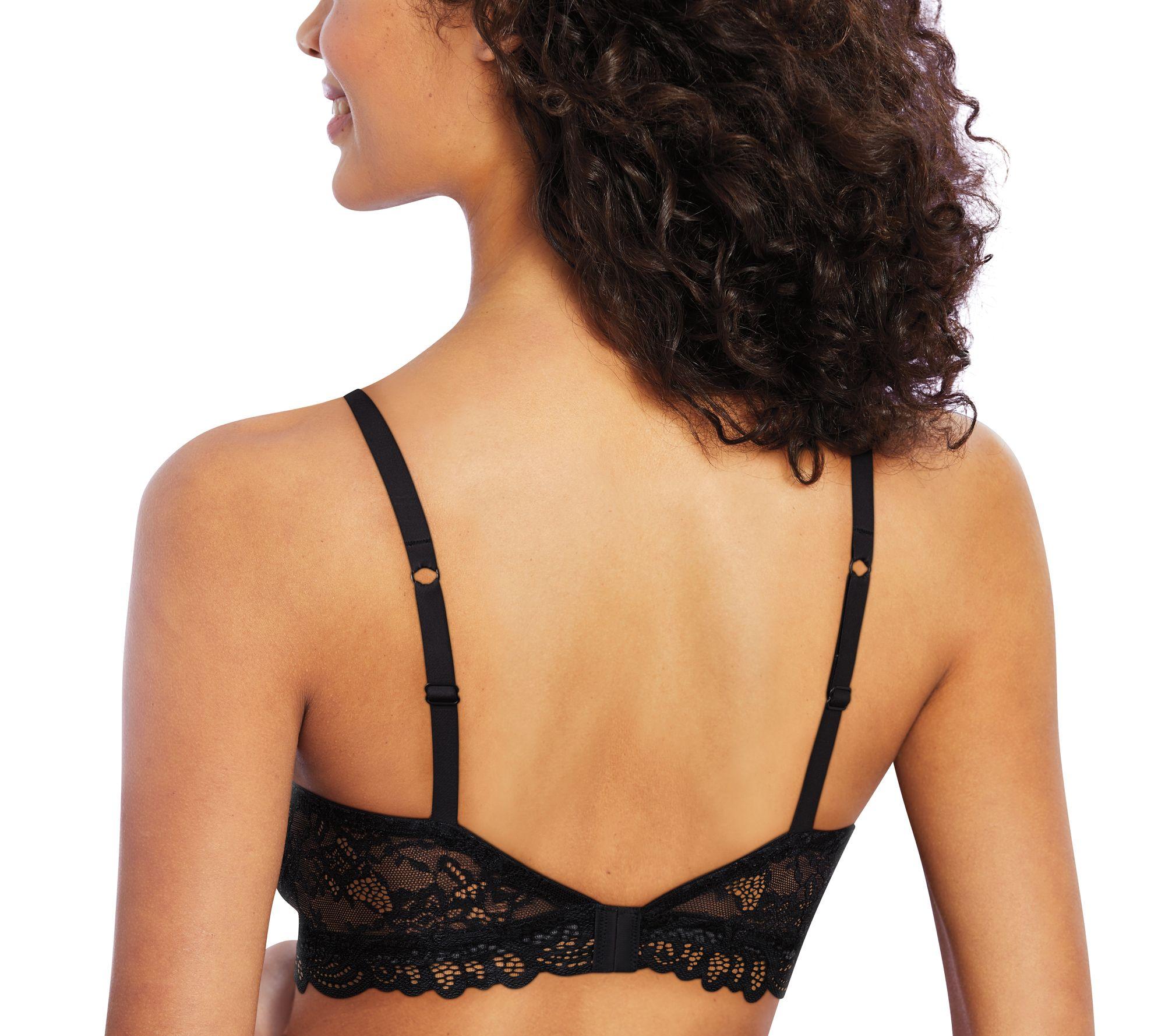 513729839 Bali Allover Lace Desire Foam Wirefree Bra - Page 1 — QVC.com