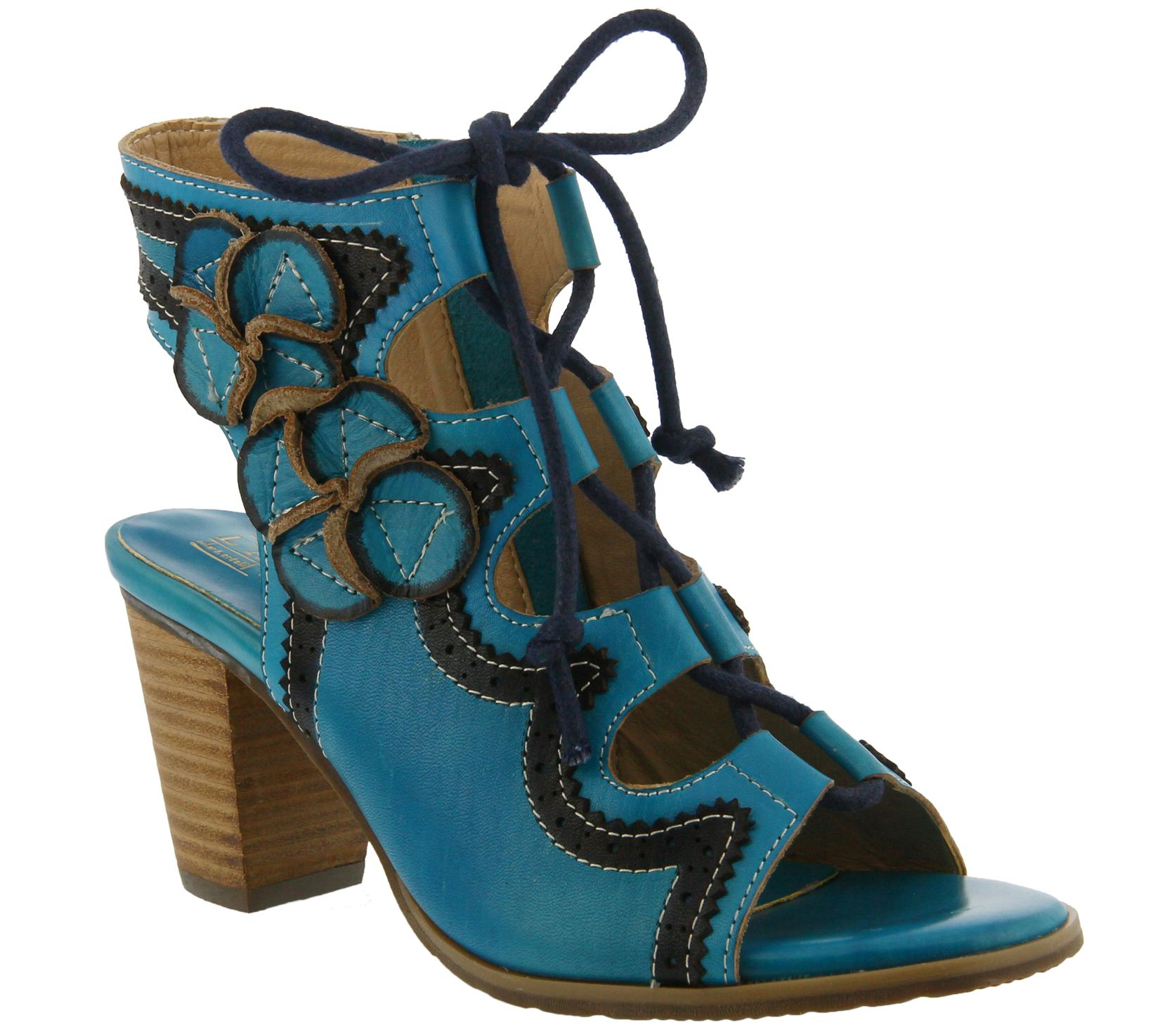 86ac2ebdd Spring Step L Artiste Leather Sandals - Alejandra - Page 1 — QVC.com