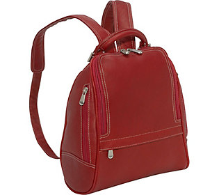 Le Donne Leather Backpack or Purse - U-Zip Mid Size (A360168) photo