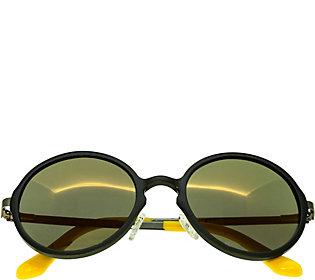 Breed Corvus Gunmetal Aluminium Sunglasses w/ Polarized