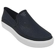 Crocs Mens Slip-On Sneakers - Citi Lane Roka - A412368
