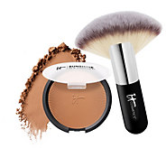 IT Cosmetics Sunshine in a Compact Matte Anti-Aging Bronzer w/Brush - A225869
