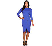 G.I.L.I. Regular Milano Ponte Zipper Dress - A273269