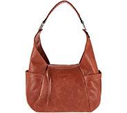 Aimee Kestenberg Vintage Leather Triple Entry Hobo- Laredo - A282569