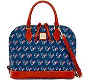 Dooney & Bourke NFL Texans Zip Zip Satchel - A285769