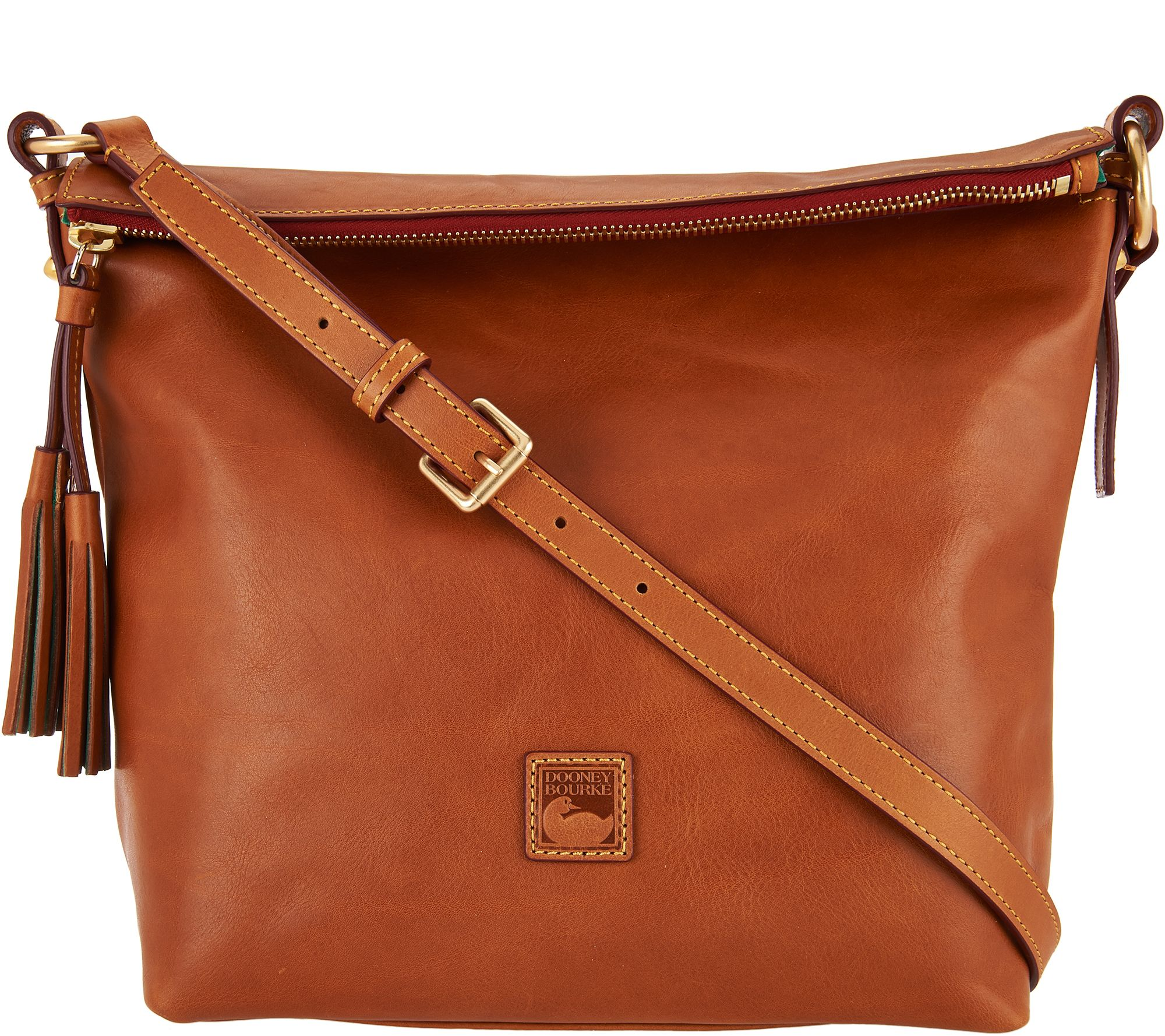 As Is Dooney Bourke Floine Small Dixon Crossbody Page 1 Qvc