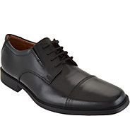 Clarks Mens Leather Lace-up Dress Shoes - Tilden Cap - A297369