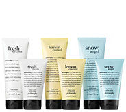 philosophy soft & smooth lotion and hand cream 6 piece kit - A302069