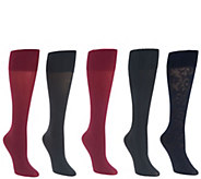 Legacy Set of Five Signature Trouser Socks - A342669