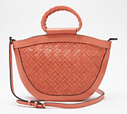 Patricia Nash Leather Braided Stitch Tote - Ossi - A352169