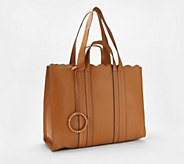 Vince Camuto Leather Large Tote Bag - Wavy - A352269