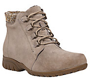 Propet Suede Ankle Boots - Delaney - A363769