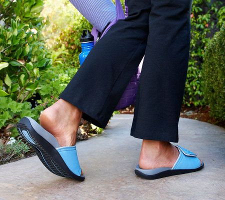 16760314d14c Orthaheel Kiwi Slip-on Unisex Orthotic Adj. Sandals - Page 1 — QVC.com