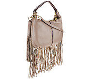 G.I.L.I. Mini Double Zip Fringe Hobo - A261870