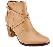 Isaac Mizrahi Live! Ankle Booties w/ Strap Details - A269770